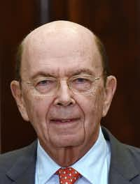 Commerce Secretary Wilbur Ross on Thursday, March 8, 2018 in Washington, D.C.(Olivier Douliery/Abaca Press)