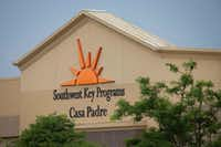 """<p><span style=""""font-size: 1em; background-color: transparent;"""">Casa Padre, in a former Walmart in Brownsville, is one of several facilities in Texas where the nonprofit Southwest Key houses children removed from their parents after crossing the border illegally.</span></p>(Loren Elliott&nbsp;/Getty Images)"""