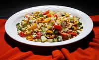 Grilled Corn Summer Salad(Vernon Bryant/Staff Photographer)