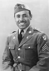 Sgt. Rafael Quiñones Torres was a member of the all Mexican-American Company E.