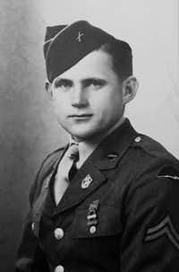 Army Staff Sgt. Leo J. Husak(Defense POW/MIA Accounting Agency)