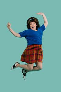 Michelle Dowdy stars as Tracy Turnblad in <i>Hairspray</i>, a co-production of Dallas Theater Center and AT&amp;T Performing Arts Center at Winspear Opera House July 7-15.(Paxton Maroney)