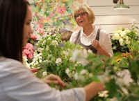 Thistle Floral Design owner Jan Barstad holds a workshop at her home studio in McKinney.(Jason Janik/Special Contributor)