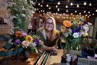 Sonya Eudaley is the co-owner of Dirt Flowers in the Bishop Arts District.(Ben Torres/Special Contributor)