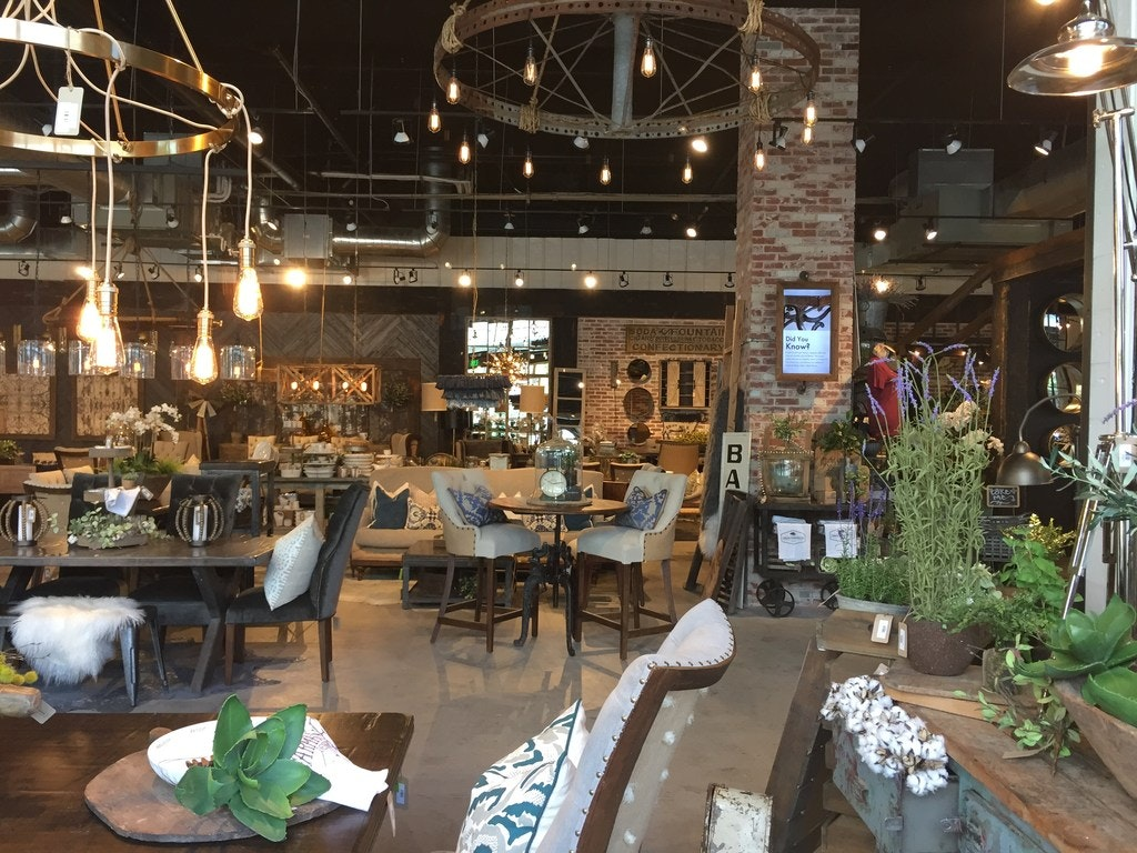 Urban Farmhouse Designs Furniture Store Opened In The Dallas Farmers Market  In June 2018.