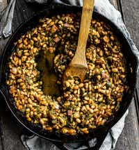 Grilled Green Chile Baked Beans(Rebecca White/Special Contributor)