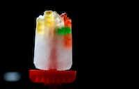 Gummy bears and lemon lime soda ice pop(Vernon Bryant/Staff Photographer)