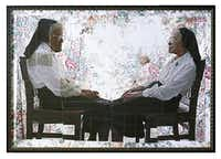 Letitia Huckaby's <i>Sister Canice and Sister Canisius</i>, which appeared in a show at the Liliana Bloch Gallery.(Liliana Bloch Gallery)