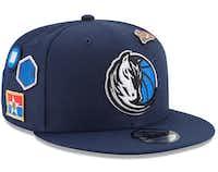 "<br>(mavs.com/<p><span style=""font-size: 1em; background-color: transparent;"">Men's 'New Era' blue Dallas Mavericks 2018 Draft 9FIFTY adjustable hat, $36</span></p>)"