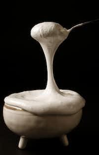 Marshmallow creme(Vernon Bryant/Staff Photographer)