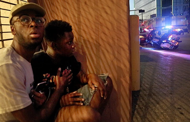 Dallas police ambush shooting survivor pushes past two painful years