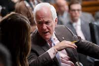 "Sen. John Cornyn, like other Texas Republicans, has raised concern about Trump's trade approach. Pointedly, he's wondered, ""How does this end?""(J. Scott Applewhite/The Associated Press)"