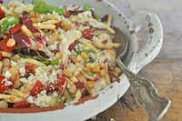 Cannellini, Pasta and Radicchio Salad(Ellise Pierce/Special Contributor)