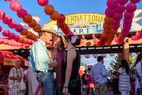 The International Folk Art Market, in Santa Fe, New Mexico.(Michael Benanav/Special Contributor)
