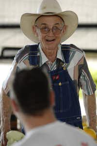 J.T. Lemley worked at his produce stand at the Dallas Farmers Market in 2012.(Robert W. Hart/Special Contributor)