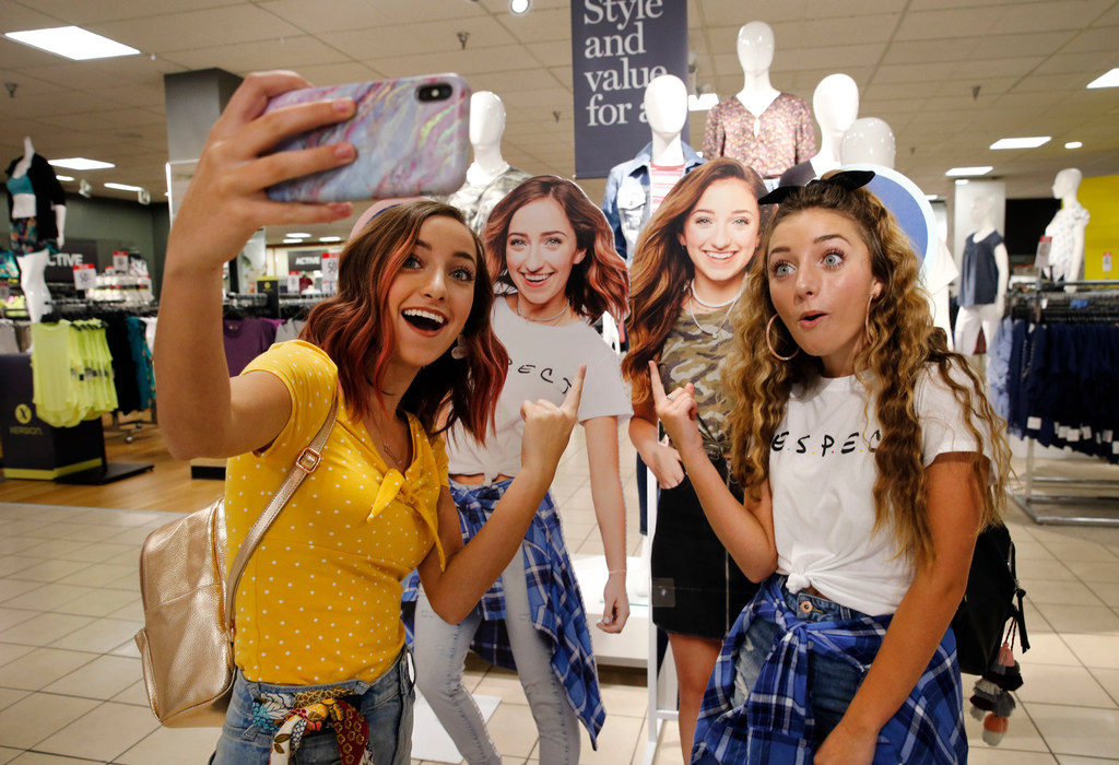 983966cdefb9 J.C. Penney turns to local YouTube stars Brooklyn and Bailey McKnight to  boost back-to-school