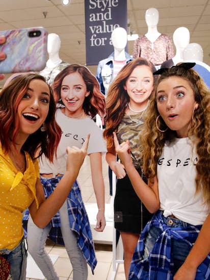 92de0c423907 J.C. Penney turns to local YouTube stars Brooklyn and Bailey McKnight to  boost back-to-school