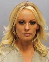 "Stormy Daniels was arrested at a Columbus, Ohio, strip club where she was accused of letting patrons touch her in violation of a state law.(<p><span style=""font-size: 1em; background-color: transparent;"">Franklin County Sheriff's Office</span><br></p><p></p>)"