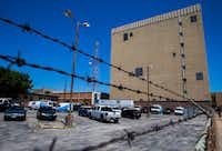 An AT&T building at 4211 Bryan St. in East Dallas has been reported to be one of several structures in major U.S. cities used to eavesdrop on Americans by the National Security Agency.(Ashley Landis/Staff Photographer)