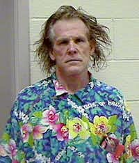 This Sept. 12, 2002 file photo shows actor Nick Noltein a booking photo released by the California Highway Patrol, taken after his arrest on suspicion of driving under the influence in Malibu, Calif.(Anonymous/AP)