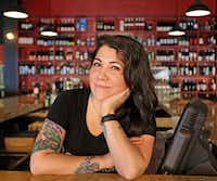Co-owner Jessica Kate-Martinez of Tapas Castile restaurant in Trinity Groves(Louis DeLuca/Staff Photographer)