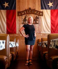 Mary Alexander of Rockwall says she has lost 65 pounds since going on the keto diet. One of the staples in her diet is barbecue, which she eats at places such as Mike Anderson's BBQ in Dallas.(Tom Fox/Staff Photographer)