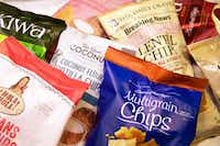 Various flavors of alternative chips(Vernon Bryant/Staff Photographer)