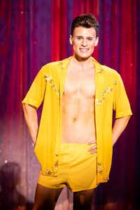 Blake McIver plays Adam/Felicia in Uptown Players production of <i>Priscilla Queen of the Desert</i>&nbsp;at Kalita Humphreys Theater.(Smiley N. Pool/Staff Photographer)