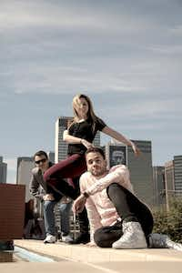From left: Carter Alexander, Hailey Von Schlehenried and Albert Drake are the choreographers behind AKA:ballet, a project to create six new works premiering July 27 at the Latino Cultural Center.(Ryan Williams)