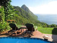 The Caribbean island of St. Lucia has tropical beaches and a volcanic landscape that won't threaten your vacation plans. (Robin Soslow/Special Contributor)