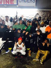 Nykees Campbell and YNB Stretch Gang(Facebook/<div><br></div><div><br></div><div><br></div><div><br></div>)