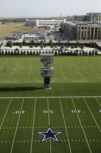 Two outdoor fields at the Dallas Cowboys headquarters a7a6ca103