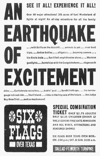 Ad from September 1961 ran in The Dallas Morning News.(The Dallas Morning News)