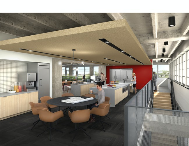 take a look at architect gensler s new office in dallas landmark