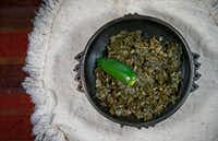 Ethiopian Collard Greens(Jae S. Lee/Staff Photographer)