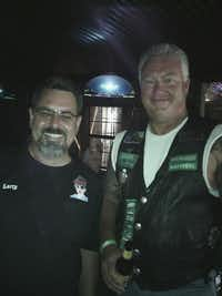 Jamie Givens (right) was known for his generous spirit and loyalty to friends like Larry Nelson.(Courtesy/Larry Nelson)