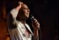 Comedian Byron Stamps, shown performing last month at Full City Rooster in Dallas, is organizer of Truth in Comedy. The experimental show of confessional comedy will run Aug. 17-Sept. 2 at Plano's Cox Playhouse. (Ben Torres/Special Contributor)