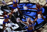 The Dallas Mavericks Dancers performed before a game against the Chicago Bulls last season at American Airlines Center. (Tom Fox/Staff Photographer)