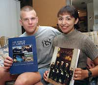 "<p><span style=""font-size: 1em; background-color: transparent;"">David Graham and then-fiance Diane Zamora posed for a news photographer for a story about their appointments to the U.S. Air Force and Naval academies. Zamora is now serving a life sentence for the 1995 murder of Adrianne Jones, a classmate with whom Graham had an affair. Graham was also convicted in Jones' death.</span></p>(1996 File Photo/Fort Worth Star-Telegram via AP)"