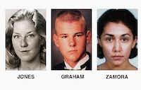 Adrianne Jones, David Christopher Graham and Diane Zamora(AP)