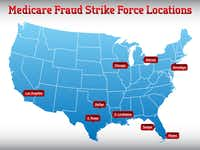Texas is the site of two federal fraud Strike Force operations.  (HHS OIG)