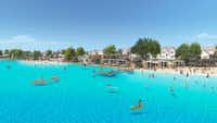 Windsong Ranch's 5-acre crystal lagoon is scheduled to open in 2019.(Terra Verde Group)
