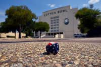 A hacky sack left behind at Fair Park earlier this week(Ben Torres/Special Contributor)