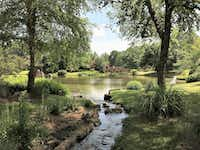 The Japanese Garden is a calming oasis at Missouri Botanical Garden in St. Louis.(Scott Cantrell/Special Contributor)