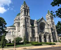 The massive Cathedral Basilica of St. Louis, a.k.a. St. Louis Cathedral,(Scott Cantrell/Special Contributor)