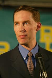 Former Baylor athletic director Ian McCaw.(Jill Johnson/TNS)