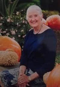 Chandler Roosevelt Lindsley, a granddaughter of former President Franklin D. Roosevelt and Eleanor Roosevelt, died July 19 doing what she loved most: working in her garden. She was 84. (Lindsley family)(Photo provided by Ruth Lindsley)