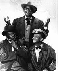 """<div>The cast of CBS' version of Amos 'n' Andy included,. at left, Dallas filmmaker Spencer Williams as Andy.<span style=""""background-color: transparent; font-size: 0.6875rem;"""">Tim Moore, at top, was Kingfish, Spencer Williams, while Alvin Childress was Andy.</span></div>(The Associated Press)"""