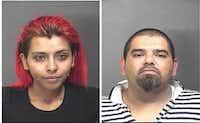 Abigail Martinez, left, and Felipe Martinez(Baytown Police Department)