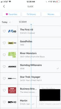 The WatchTV rid guide on my iPhone(Jim Rossman)